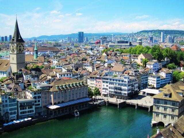 スイス最大の都市・チューリヒでヨーロッパの豊かさを思い知らされた話