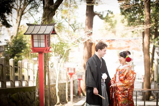 日独夫婦の私たち、京都の吉田神社で小さな結婚式を挙げました